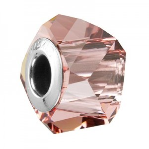Swarovski 5928 BeCharmed Helix Blush Rose 14x10mm - 1τεμ