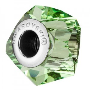 Swarovski 5928 BeCharmed Helix Peridot 14x10mm - 1τεμ