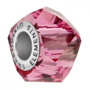 Swarovski 5928 BeCharmed Helix Rose 14x10mm - 1τεμ