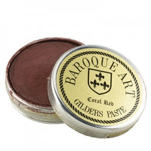 Baroque Art Gilders Paste - Coral Red - 30ml