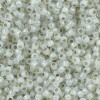 Toho® Χάντρα Round 11/0 - Silver Lined Milky White 2100 ~10gr