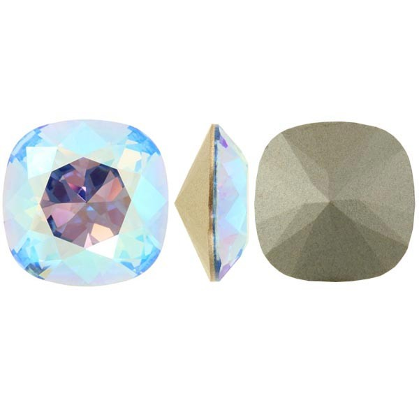 Swarovski 4470 Cushion Square Light Sapphire Shimmer 12mm - 1τεμ