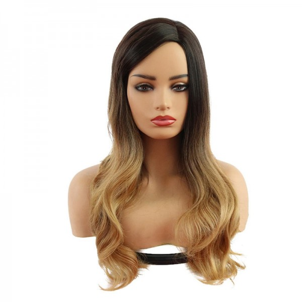 Cosplay Περούκα - Μακριά Σπαστά - Balayage Brown Ombre 65cm