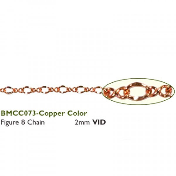 Αλυσίδα Figure 8 - 2mm Copper ~0.75m