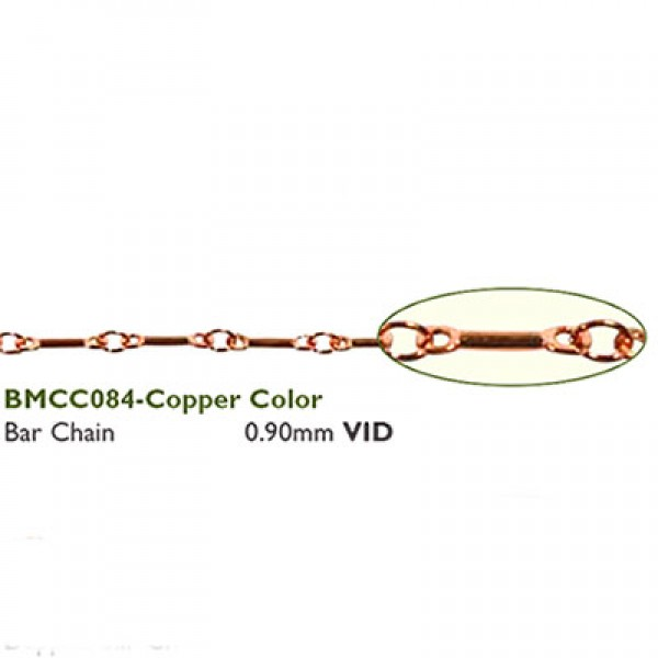 Αλυσίδα Bar - 0.90mm Copper ~0.75m