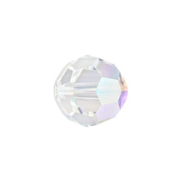 Swarovski 5000 Faceted Round Crystal AB 10mm - 4τεμ