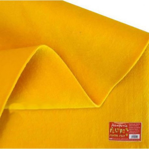 Φύλλo Felt 3mm - Yellow - 50x70cm