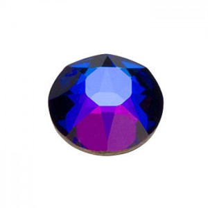 Swarovski 2088 GlueFix XIRIUS Crystal Metallic Blue SS34 Ø7.1x3mm ~12τεμ
