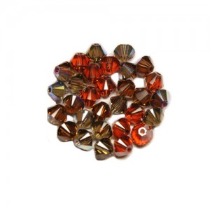 Swarovski 5328 XILION Bicone Special Mix No81 4mm - 30τεμ