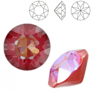 Swarovski 1088 Xirius Chaton Crystal Royal Red DeLite SS39 Ø8.29x5.1mm - 12τεμ