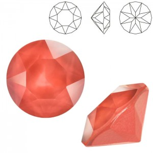 Swarovski 1088 Xirius Chaton Crystal Light Coral SS39 Ø8.29x5.1mm - 12τεμ