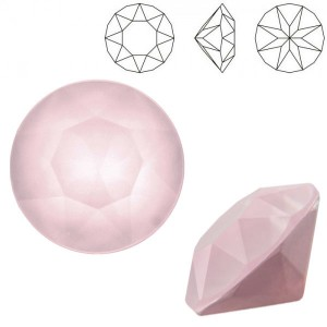 Swarovski 1088 Xirius Chaton Crystal Powder Rose SS39 Ø8.29x5.1mm - 12τεμ