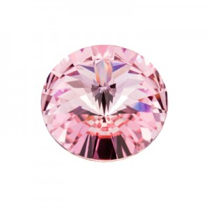 Swarovski 1122 Rivoli Light Rose (223) Ø10.7mm (SS47) - 6τεμ