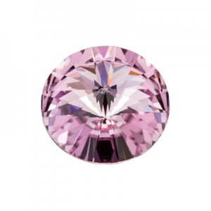 Swarovski 1122 Rivoli Light Amethyst Ø12mm - 4τεμ