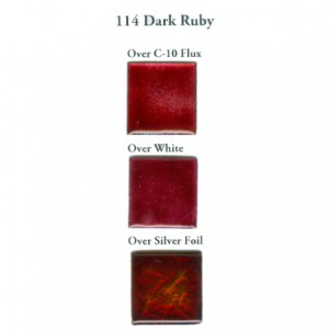 Σμάλτο Μετάλλου Schauer 114 Dark Ruby Transparent  730-770°C - 20gr