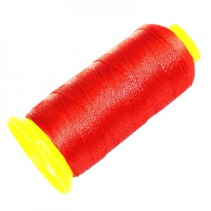 Polyester Cotton Cord Ø0.3mm - Red ~540m
