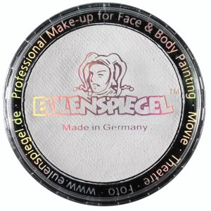 Χρώμα Μακιγιάζ Facepaint Bodypaint Eulenspiegel Profi - White - 30gr/20ml