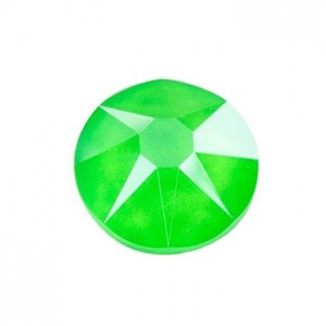 Swarovski 2088 GlueFix XIRIUS Crystal Electric Green SS30 Ø6.4x3mm ~24τεμ