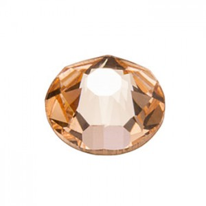 Swarovski 2088 GlueFix XIRIUS Light Peach SS30 Ø6.4x3mm ~12τεμ