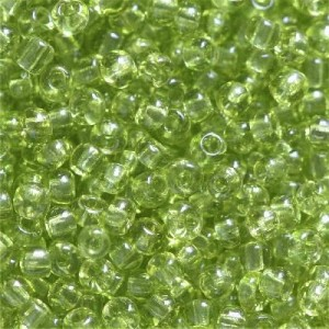 Χάντρα Seed Beads 11/0 - Clear Forest Green - 20gr