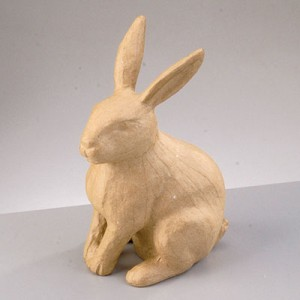 Φιγούρα Pappart Rabbit Sitting 21x12.5x9.5cm