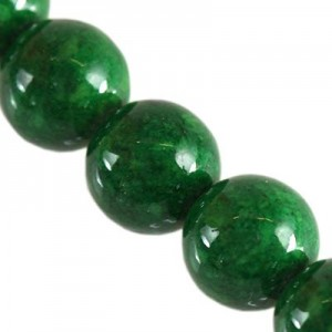 Marble Dyed Round Green Ø8mm ~50τεμ