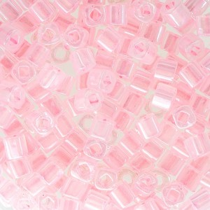 Toho® Χάντρα Cube (Κύβος) 3mm - 145 Ceylon Innocent Pink ~10gr