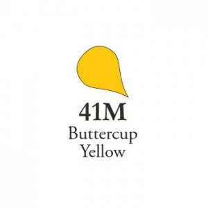Χρώμα Πορσελάνης Schira - 41M MATT Buttercup Yellow - 5gr