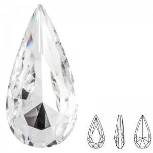 Swarovski 4322 Teardrop Fancy Stone Crystal 10x5mm - 4τεμ