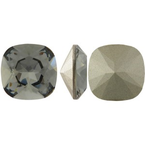Swarovski 4470 Square Rhinstone Black Diamond 10mm - 1τεμ