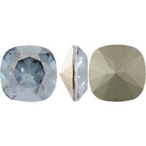 Swarovski 4470 Square Rhinstone Crystal Blue Shade 10mm - 1τεμ