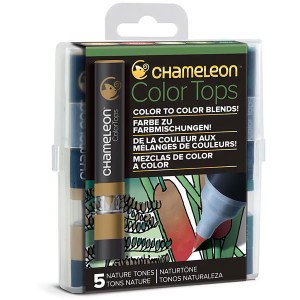 Σετ Chameleon™ Color Tops - Nature Tones - 5τεμ