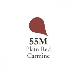 Χρώμα Πορσελάνης Schira - 55M MATT Plain Red Carmine - 5gr