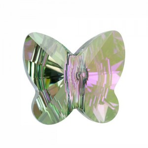 Swarovski 5754 Butterfly Crystal Paradise Shine 6mm - 5τεμ