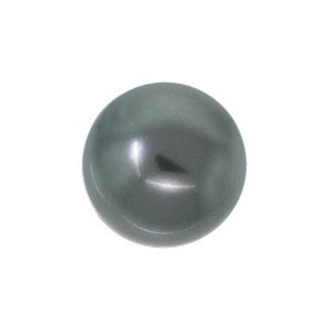 Swarovski 5810 (617) Round Dark Grey Pearl Ø8mm - 25τεμ