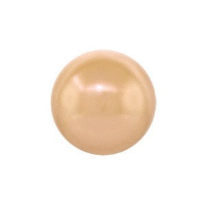 Swarovski 5810 (769) Round Rose Gold Pearl Ø6mm - 50τεμ