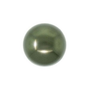 Swarovski 5810 (814) Round Dark Green Pearl Ø8mm - 25τεμ