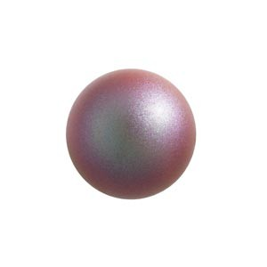 Swarovski 5810 (947) Round Iridescent Red Pearl Ø10mm - 10τεμ