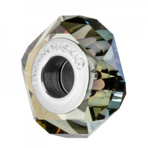 Swarovski 5929 BeCharmed Fortune Crystal Iridescent Green 14x6.5mm - 1τεμ