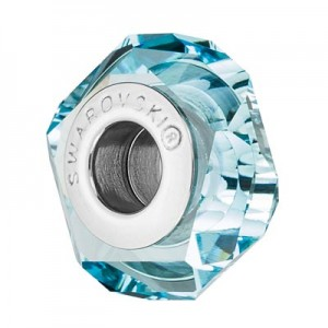 Swarovski 5929 BeCharmed Fortune Light Turquoise 14x6.5mm - 1τεμ