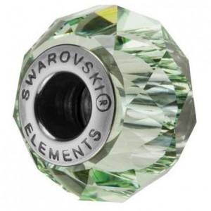 Swarovski 5948 BeCharmed Briolette Chrysolite 14x10mm - 1τεμ