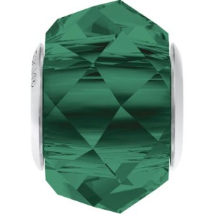 Swarovski 5948 BeCharmed Briolette Emerald 14x10mm - 1τεμ