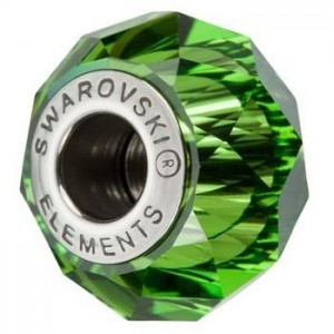 Swarovski 5948 BeCharmed Briolette Fern Green 14x10mm - 1τεμ