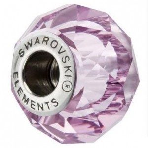 Swarovski 5948 BeCharmed Briolette Light Amethyst 14x10mm - 1τεμ