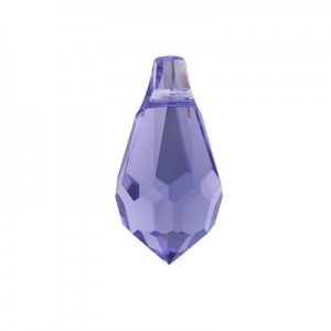 Swarovski 6000 Drop Tanzanite 15x7.5mm - 2τεμ