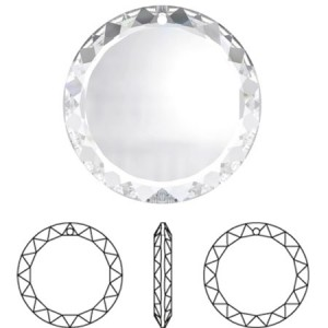Swarovski 6049 Faceted Disc Crystal 20mm - 1τεμ