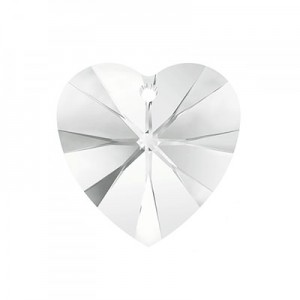 Swarovski Xilion Heart 14.4x14mm Crystal 6228 - 2τεμ