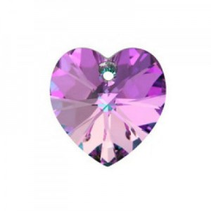 Swarovski Xilion Heart 14.4x14mm Vitrail Light 6228/001 - 2τεμ