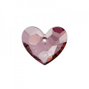 Swarovski 6264 Truly in Love Heart Crystal Antique Pink 18mm - 1τεμ