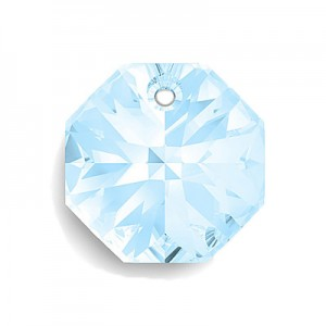 Swarovski 6401 Octagon Aquamarine 14mm - 3τεμ